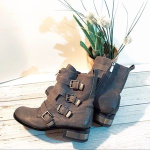 🍂Vince Camuto Wesli Moto Boots🍂